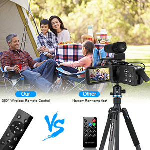 b2a3a509 98a2 4070 a6d8 944cc482a871.  CR0,0,300,300 PT0 SX300 V1    - 4K Camcorder 48MP 18X Digital Camera WiFi IR Night Vision Video Camera for YouTube 3.0inch HD Touch Screen Vlogging Camera with External Microphone, Stabilizer and Remote Control