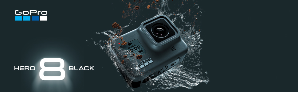 c7a7ff5c 1c32 4923 baf4 35517e9fc24e.  CR0,0,970,300 PT0 SX970 V1    - GoPro Hero 8 Black Edition Action Camera Kit with Sandisk Extreme 32GB Memory Card, Card Reader and GoPro Hero 8 Spare Battery