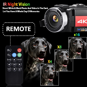 e2363d0e d4df 430d b068 9bb0e8b5bc48.  CR0,0,300,300 PT0 SX300 V1    - OIEXI Video Camera 4K Camcorder Vlog Camera for YouTube, HD Digital Camera with 16X Digital Zoom and Night Vision, Video Recorder with Microphone (32GB SD Card, 2 Batteries Included