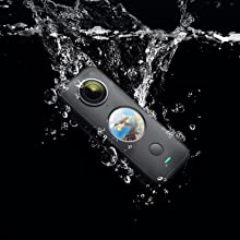 e5b673d4 0945 4bee a033 7f792eead009.  CR0,0,1600,1600 PT0 SX220 V1    - Insta360 ONE X2 360 Degree Waterproof Action Camera, 5.7K 360, Stabilization, Touch Screen, AI Editing, Live Streaming, Webcam, Voice Control