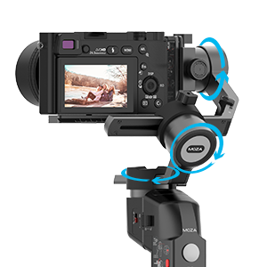 f27ac37c 7989 43e5 939a ead1816218aa.  CR0,0,300,300 PT0 SX300 V1    - MOZA Mini P Gimbal Stabilizer Handheld 3 Axis Gimbal 4-in-1 for Mirrorless&Compact Camera for iPhone Android Smartphone for Action Camera GoPro up to 1.98Lb Payload