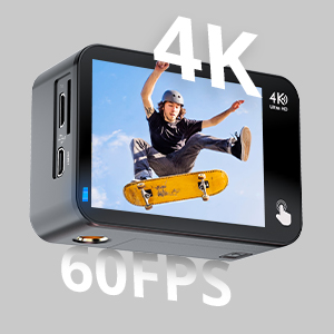 2ea92a6a 28bf 420c 8702 5bd99223a17c.  CR0,0,300,300 PT0 SX300 V1    - COOAU Native 4K 60fps 20MP Touch Screen WiFi Action Sport Camera EIS Stabilization Underwater Waterproof Cam with External Microphone Remote Control 2x1350Amh Batteries