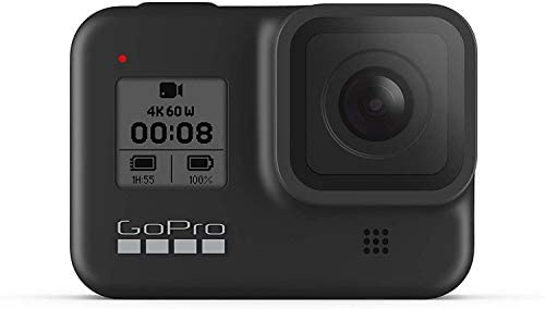 31DESR0uLuL. AC  - GoPro HERO8 Black Waterproof Action Camera with Touch Screen 4K Ultra HD Video 12MP Photos 1080p Live with Accessoy Bundle + 2 Extra GoPro USA Batteries Total 3 + Sandisk 64GB MicroSD U3 + Ritz Reader