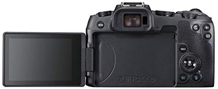 """31XRR9quIzL. AC  - Canon EOS RP Full Frame Mirrorless Vlogging Portable Digital Camera with 26.2MP Full-Frame CMOS Sensor, Wi-Fi , Bluetooth, 4K Video Recording and 3.0"""" Vari-angle Touch LCD Screen, Body, Black,"""