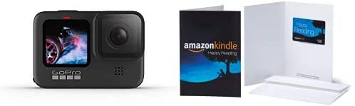 31ZH7qWdOIL. AC  - GoPro Hero9 Black Waterproof Action Camera + $50 Amazon Physical Gift Card in Envelope