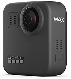 31hEkyl40ZS. AC  - GoPro MAX — Waterproof 360 + Traditional Camera with Touch Screen Spherical 5.6K30 HD Video 16.6MP 360 Photos 1080p Live Streaming Stabilization