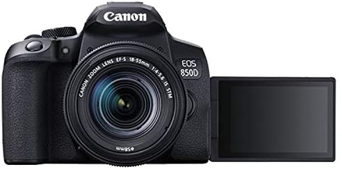 41 0Zy83NIL. AC  - Canon EOS 850D (Rebel T8i)DSLR Camera with 18-55mm f/4-5.6 IS STM Zoom Lens + 75-300mm F/4-5.6 III Lens + 128GB Card, Filters, 2X Telephoto Lens, HD Wide Angle Lens, Hood, Lens Pouch, and More (28pcs)