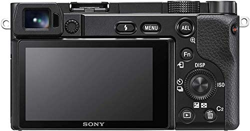 41 esagn4BL. AC  - Sony Alpha 6100 Mirrorless APS-C Camera with 16-50 mm Power Zoom Lens - 0.02-Seconds Fast AF, Real-Time Eye AF for Human and Animal, 4K Video and Flip Screen