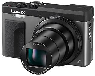 41 l1A97fxL. AC  - Panasonic Lumix ZS70 20.3 Megapixel, 4K Digital Camera, Touch Enabled 3-inch 180 Degree Flip-Front Display, 30X Leica DC Lens (Silver) + DMW-ZSTRV Battery Charger + Lexar 32 GB Card + Tabletop Tripod