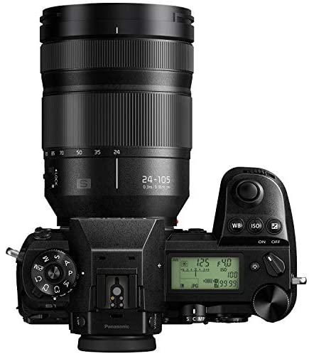 """41143pU3htL. AC  - Panasonic LUMIX S1 Full Frame Mirrorless Camera with 24.2MP MOS High Resolution Sensor, 24-105mm F4 L-Mount S Series Lens, 4K HDR Video and 3.2"""" LCD - DC-S1MK"""
