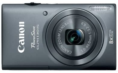 415zDCyFCmL. AC  - Canon PowerShot ELPH 130 IS 16.0 MP Digital Camera with 8x Optical Zoom 28mm Wide-Angle Lens and 720p HD Video Recording (Gray) (OLD MODEL)
