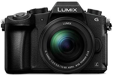 41BxuBouY1L. AC  - Panasonic LUMIX G85MK 4K Mirrorless Interchangeable Lens Camera Kit, 12-60mm Lens, Sandisk 170MB/s 64GB, 2 Spare Batteries, Charger, Backpack, Spider Tripod, Filter Kit, and Flash Bundle (7 Items)