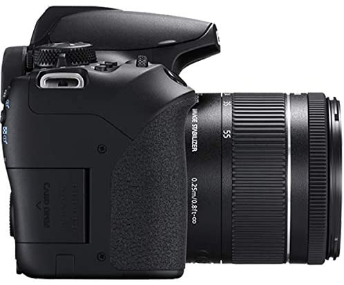 41CwdppCAhL. AC  - Canon EOS 850D (Rebel T8i)DSLR Camera with 18-55mm f/4-5.6 IS STM Zoom Lens + 75-300mm F/4-5.6 III Lens + 128GB Card, Filters, 2X Telephoto Lens, HD Wide Angle Lens, Hood, Lens Pouch, and More (28pcs)