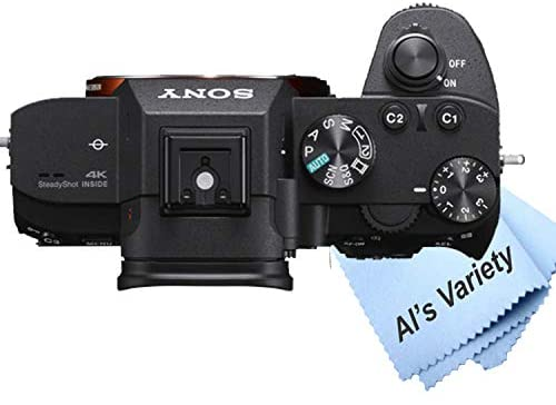 41DQtVxgAlL. AC  - Sony a7 III Full-Frame Mirrorless Interchangeable-Lens Camera with 3-Inch LCD (Body Only), Tripod, Case, and More (11pc Bundle)