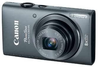 41F0IMng0AL. AC  - Canon PowerShot ELPH 130 IS 16.0 MP Digital Camera with 8x Optical Zoom 28mm Wide-Angle Lens and 720p HD Video Recording (Gray) (OLD MODEL)