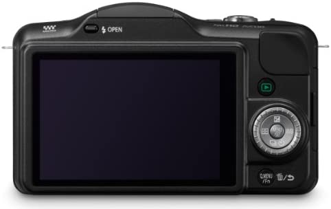 41FNw+GlGuL. AC  - Panasonic Lumix DMC-GF3KK 12 MP Micro 4/3 Mirrorless Digital Camera with 3-Inch Touchscreen LCD and 14-42mm Zoom Lens (Black) (Discontinued by Manufacturer)