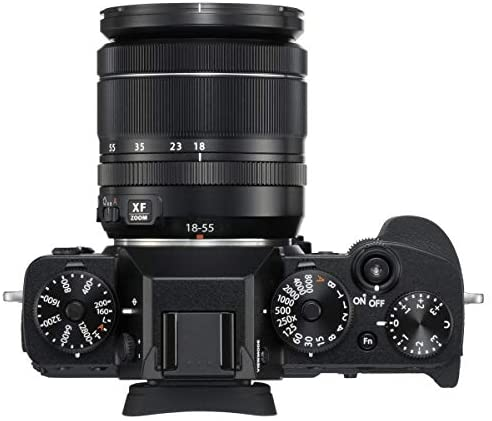 41FaMVG2eSL. AC  - Fujifilm X-T3 Mirrorless Digital Camera with XF 18-55mm Lens, Black, Bundle with 256GB SD Card + Lowepro Backpack + Joby GorillaPod 3K Kit RR-100 Remote Release + LCD Monitor Protector