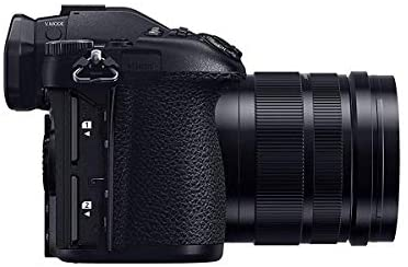 41FunhV7heL. AC  - Panasonic Lumix G9 4K Mirrorless Digital Camera (Black), with 12-60mm Lens, Bundle with Vanguard Alta Pro 264AB 100 Aluminum Tripod with Ball Head, 32GB SD Card, LCD Protector, Cleaning Kit, Cloth
