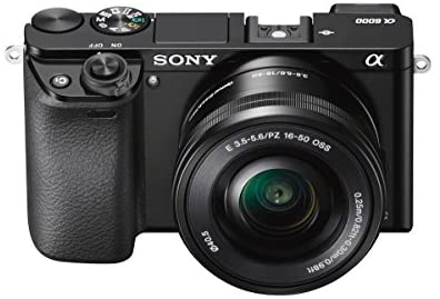 41Gy6+1ZHtL. AC  - Sony A6000 Interchangeable Lens Digital Camera with SELP1650 and SEL55210 Lens Kit - Black (24.3MP)