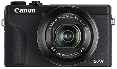 41HQyKaeTaL. AC  - Canon PowerShot G7X Mark III Digital 4K Vlogging Camera, Vertical 4K Video Support with Wi-Fi, NFC and 3.0-Inch Touch Tilt LCD, Black