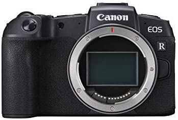 """41JBhie1KQL. AC  - Canon EOS RP Full Frame Mirrorless Vlogging Portable Digital Camera with 26.2MP Full-Frame CMOS Sensor, Wi-Fi , Bluetooth, 4K Video Recording and 3.0"""" Vari-angle Touch LCD Screen, Body, Black,"""