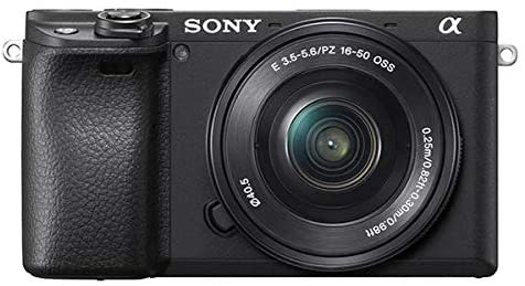 41Lc7PPlw0L. AC  - Sony Alpha 6400   APS-C Mirrorless Camera with Sony 16-50 mm f/3.5-5.6 Power Zoom Lens (Fast 0.02s Autofocus 24.2 Megapixels, 4K Movie Recording, Flip Screen for Vlogging)