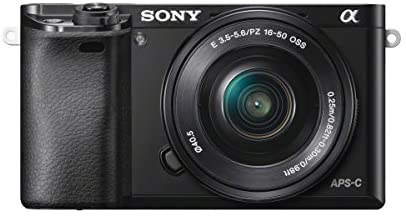 41OVe3eaSjL. AC  - Sony A6000 Interchangeable Lens Digital Camera with SELP1650 and SEL55210 Lens Kit - Black (24.3MP)