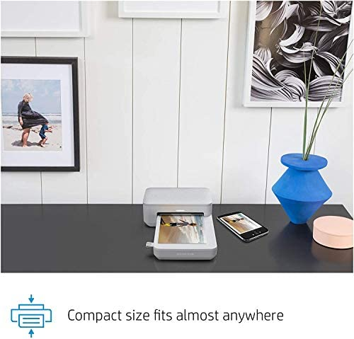 """41PFOyDSViL. AC  - HP Sprocket Studio 4x6"""" Instant Photo Printer – Print Photos from Your iOS, Android Devices & Social Media"""