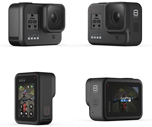 41WQP3LxuhL. AC  - GoPro HERO8 Black Bundle - Includes HERO8 Black Camera, Shorty, Head Strap, 32GB SD Card, and 2 Rechargeable Batteries