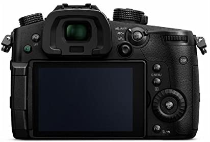 41bBjVcPx4L. AC  - Panasonic LUMIX GH5 4K Mirrorless Digital Camera, 20.3 Megapixel DC-GH5 (Body), Bundle with V-Log L Upgrade Kit, Mic, Bag, 2 Battery, Charger, Corel PC Software, 128GB SD Card + Essential Accessories
