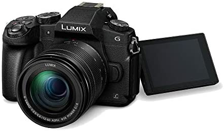 41fKjHo+GHL. AC  - Panasonic LUMIX G85MK 4K Mirrorless Interchangeable Lens Camera Kit, 12-60mm Lens, Sandisk 170MB/s 64GB, 2 Spare Batteries, Charger, Backpack, Spider Tripod, Filter Kit, and Flash Bundle (7 Items)