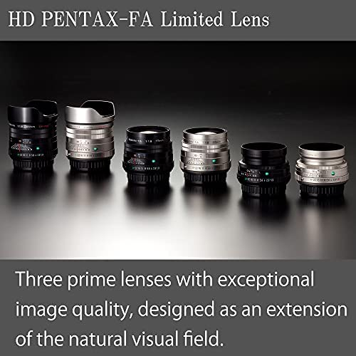 41gH5hXa0xS. AC  - Pentax HD 43mmF1.9 Limited Black Limited Lens Standard Prime Lens [F1.9 Large Aperture Lens] [High-Performance HD Coating] [SP Coating] [Round Diaphragm] [Machined Aluminum Body ] (20140)