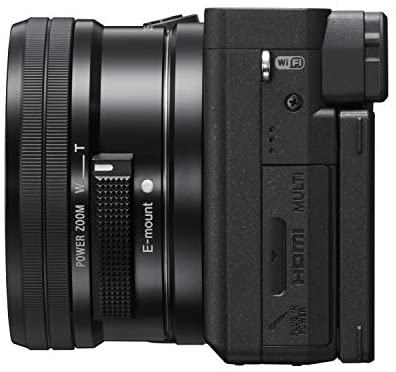 41j6K6XTu8L. AC  - Sony Alpha 6400   APS-C Mirrorless Camera with Sony 16-50 mm f/3.5-5.6 Power Zoom Lens (Fast 0.02s Autofocus 24.2 Megapixels, 4K Movie Recording, Flip Screen for Vlogging)