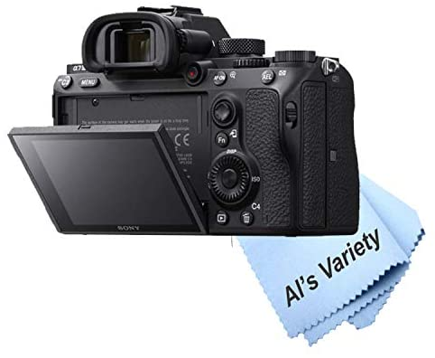 41kxzQ+nRqL. AC  - Sony a7 III Full-Frame Mirrorless Interchangeable-Lens Camera with 3-Inch LCD (Body Only), Tripod, Case, and More (11pc Bundle)