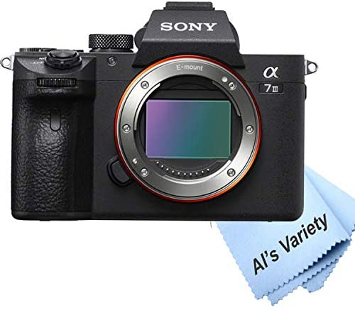 41mm04tqDbL. AC  - Sony a7 III Full-Frame Mirrorless Interchangeable-Lens Camera with 3-Inch LCD (Body Only), Tripod, Case, and More (11pc Bundle)