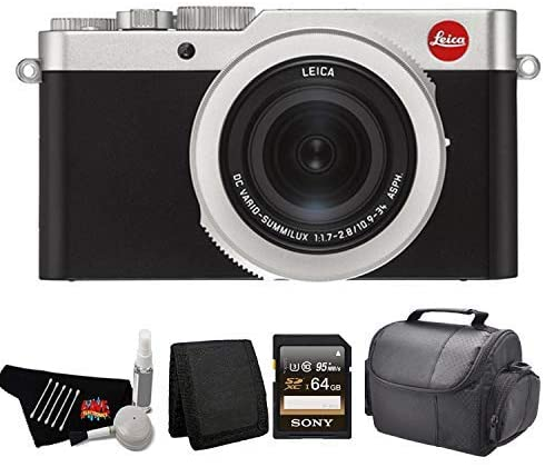41qTHmn91TL. AC  - Leica D-Lux 7 Point and Shoot Digital Camera 19116 Kit with 64GB Memory Card + More