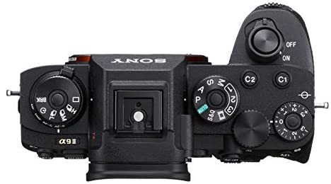 41qYI4MkChL. AC  - Sony a9 II Mirrorless Camera: 24.2MP Full Frame Mirrorless Interchangeable Lens Digital Camera with Continuous AF/AE, 4K Video and Built-in Connectivity - Sony Alpha ILCE9M2/B Body - Black