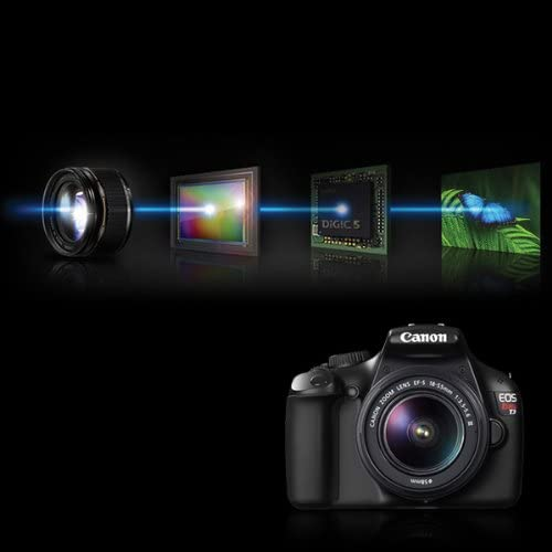 41u+tNMcziL. AC  - Canon EOS Rebel T3 Digital SLR Camera with EF-S 18-55mm f/3.5-5.6 IS Lens (discontinued by manufacturer)
