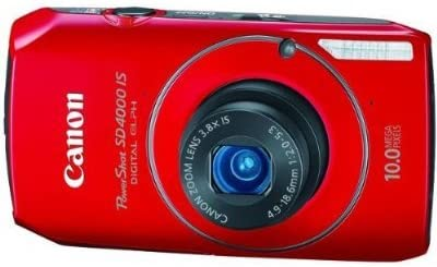 41xjDc0YQWL. AC  - Canon PowerShot SD4000IS 10 MP CMOS Digital Camera with 3.8x Optical Zoom and f/2.0 Lens (Red)