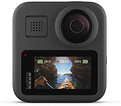 41z++QfgGCL. AC  - GoPro MAX — Waterproof 360 + Traditional Camera with Touch Screen Spherical 5.6K30 HD Video 16.6MP 360 Photos 1080p Live Streaming Stabilization