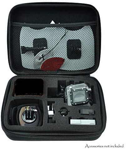 515qd+8ZmQL. AC  - GoPro HERO7 Black Sports Action Camera + SanDisk 64GB Extreme UHS-I microSDXC Memory Card + Hard Case + Head Strap & Chest Strap + Spike Mount + Floating Handle + Monopod + Top Value Accessories!