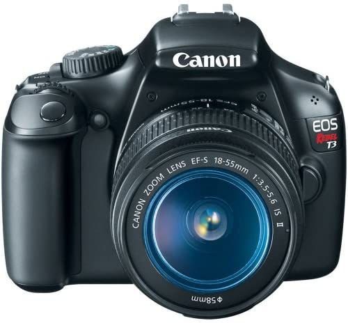 51HgYVS2ZXL. AC  - Canon EOS Rebel T3 Digital SLR Camera with EF-S 18-55mm f/3.5-5.6 IS Lens (discontinued by manufacturer)