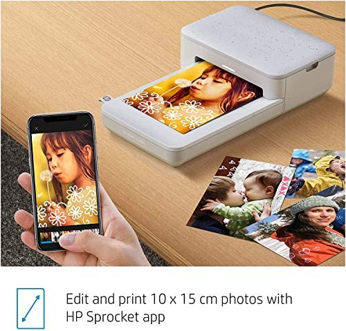 """51MIyY5PNnL. AC  - HP Sprocket Studio 4x6"""" Instant Photo Printer – Print Photos from Your iOS, Android Devices & Social Media"""
