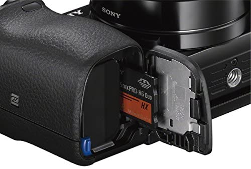 51QZnaRgpmL. AC  - Sony A6000 Interchangeable Lens Digital Camera with SELP1650 and SEL55210 Lens Kit - Black (24.3MP)