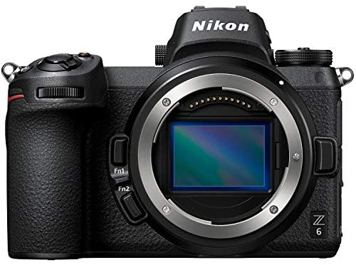 51ScSEwwSYL. AC  - Nikon Z6 Mirrorless Camera Body FX-Format Full-Frame 4K Ultra HD with FTZ Mount Adapter for F-Mount Lenses and Deco Gear Travel Gadget Bag Case + Extra Battery & Accessory Kit Editing Software Bundle