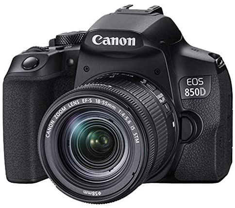 51Vb6OxiuML. AC  - Canon EOS 850D (Rebel T8i)DSLR Camera with 18-55mm f/4-5.6 IS STM Zoom Lens + 75-300mm F/4-5.6 III Lens + 128GB Card, Filters, 2X Telephoto Lens, HD Wide Angle Lens, Hood, Lens Pouch, and More (28pcs)