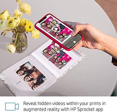 """51dK+wjyQ2L. AC  - HP Sprocket Studio 4x6"""" Instant Photo Printer – Print Photos from Your iOS, Android Devices & Social Media"""