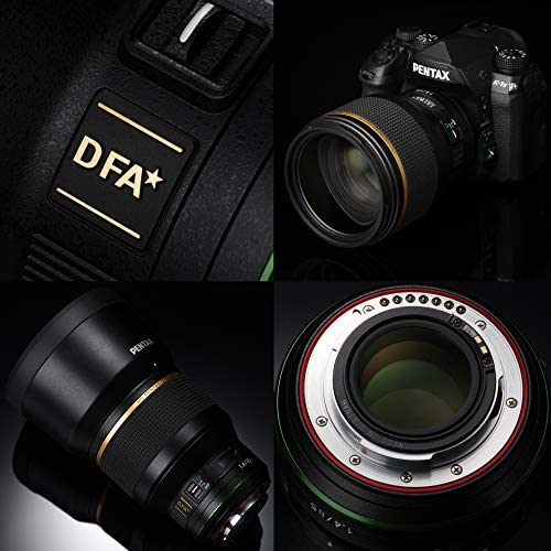 51h3BrnkVlL. AC  - Pentax HD PENTAX-D FA85mmF1.4ED SDM Prime Telephoto lens New-generation, Star-series lens Latest PENTAX Lens coating technologies Extra-sharp, high-contrast images Free of flare and ghost images