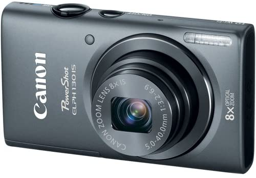 51h5kXyXgAL. AC  - Canon PowerShot ELPH 130 IS 16.0 MP Digital Camera with 8x Optical Zoom 28mm Wide-Angle Lens and 720p HD Video Recording (Gray) (OLD MODEL)