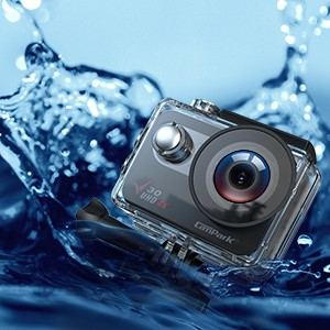 7ec498f1 77a5 4caa 9bbd 2c9440c18009.  CR0,0,300,300 PT0 SX300 V1    - Campark V30 Native 4K Action Camera 20MP EIS Touch Screen WiFi Waterproof PC Webcam with Optional View Angle, 2 1350mAh Batteries and Mounting Accessories Kit